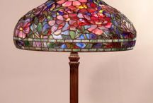 Tiffany lamp / Lampenkappen