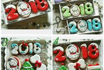 пряники новый год