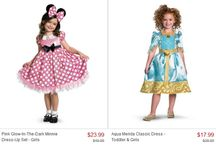 Disney character costumes/dress
