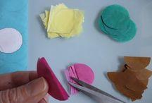 carpes en papiers de soie