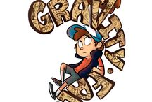 "Gravity Falls / ""In Gravity Falls there's no one you can trust.."""