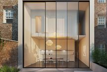 Moderne Anbauten