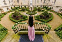 Romeo & Juliet Proposal at Syon Park Courtyard