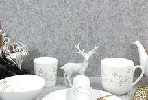 Weihnachtsgeschirr / Weihnachtsdeko / Weihnachten ist... Zeit mit den Lieblingsmenschen verbringen. Und damit auch das Ambiente liebevoll ist, haben wir euch einmal unsere Weihnachts-Porzellan Serien zusammengestellt. Denn Liebe geht durch den Magen und die Augen ;-)
