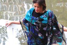 L'hiver au Plat Pays / Des foulards et des étoles inspirés des Pays-Bas, pour s'emmitoufler avec style cet hiver !