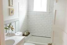 Hall Bathroom Renovation / Time to update the spare/kids' bathroom.  Wanting modern amenities with 1920s period style.