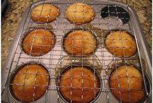 Pineapple upside down cakes