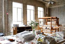 Dadouchic sewing studio inspo