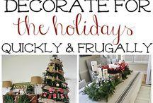 Christmas / Idee, decorazioni, pacchetti, addobbi, lettere,biglietti d'auguri, fai da te in tema natalizio