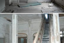 Fear of abandonment / Abandoned buildings. It's so intriguing to me I wNt to go inside and look around.  Maybe there are ghosts / by Greg Miley
