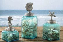 Mermaid's home / Under the sea, is where home is :) Pretty things to remind us of home in our land dwelling ;)