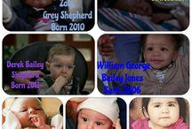 Grey's anatomy children