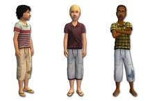 Sims 2 Kids Clothing - CM