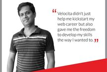 Velocita Inspires / A glimpse of our employees and how Velocita inspired them...