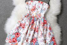 Summer clothes: dresses