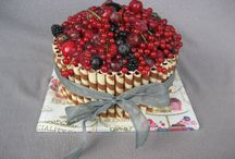 Meine Naked Cakes / Drip Cakes