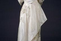 Elegant 1900's (1900's fashion) / #1900 #fashion #dress