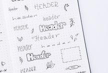 Header Fonts
