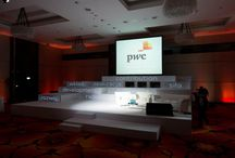 PricewaterhouseCoopers's conference / Our stage for PricewaterhouseCoopers's conference
