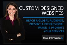 Our Services / We offer a wide range of web services to help our clients reach the four corners of the globe!