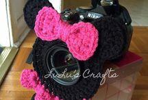 Crochet lens buddy