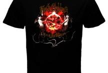 Black Sabbath Band 2 Side Black T-shirt