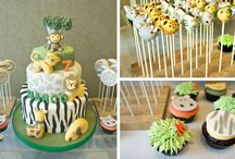 Baby shower  or  childrens birthday cakes
