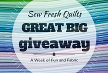 Giveaway! / by Sew Fresh Quilts