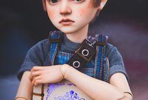 Dolls ❤ qwq male