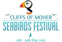 The Cliffs of Moher Seabirds Festival 9th-14th May / The inaugural Cliffs of Moher Seabirds Festival- all the feathery friends that you may meet when you visit 9th-14th May 2015. Fulmars, Kittiwakes, Razorbills, Herring gulls, Puffins, there are at least 14 seabirds that you can identify. Use this board to help you!