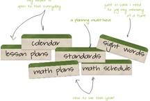 classroom organization and decorations