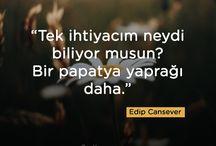 EDİP CANSEVER
