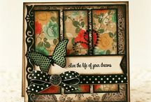 Card layouts / by Sue Clover