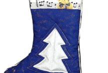 Christmas Patchwork Quilting / buty mikołajkowe, buty elfa, poduszki  itp