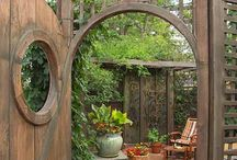 Garden Gates / ideas for garden gates