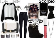 Zodiac fashion (Scorpio)