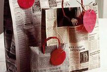 pacchetti carta di giornali