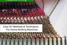 Stricken/Strickmaschine / knitting with machine