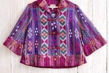 blouse ulos batik