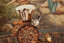 Altered-steampunk & collage / by Loretta Scena