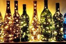 Bottled Up / Wine, Liquor Bottle Craft Ideas
