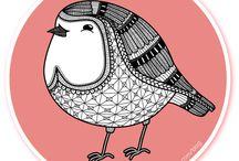 birds-2 / by Esther Piekaar