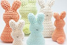 Easter Inspiration / Easter holiday crochet and knitting inspiration