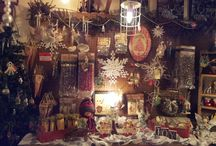 """Christmas in the wine Cellar / Our Boutique presents """"Christmas in the Wine Cellar"""" which is now open through the month of January and reopen next Nov. 2015. the cellar is filled with retro and new Christmas gifts and keepsakes!"""