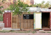 Shipping container architecture / by DesignBuildBLUFF