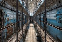 RUSTIC PRISON INTERIOR