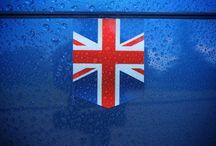 Flag of the United Kingdom tailribbon stickers / Collection of photos of the flag of the United Kingdom stickers, also known as the Union Jack or the British flag.