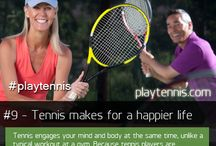 Tennis / WE ❤ TENNIS!  Toluca Lake Tennis & Fitness Club boasts six championship lighted courts, automated ball machine, practice backboard, racket rental/restringing and an exceptional group of tennis professionals and staff to serve you.