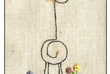 embroidery / by karen jarvis