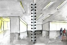 Architecture Drawings & Collages